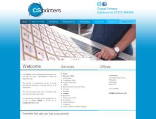 cs-printers.co.uk screenshot