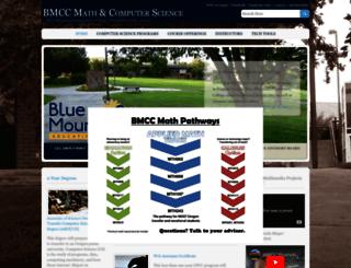 cs.bluecc.edu screenshot