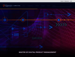 cs.queensu.ca screenshot