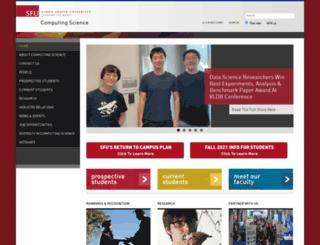 cs.sfu.ca screenshot