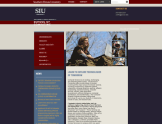cs.siu.edu screenshot