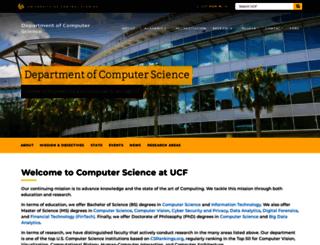 cs.ucf.edu screenshot