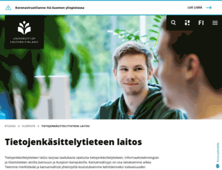 cs.uku.fi screenshot