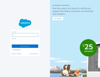cs42.salesforce.com screenshot
