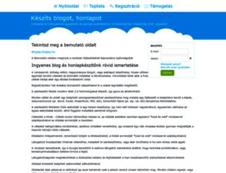 csabikuca.bloglap.hu screenshot