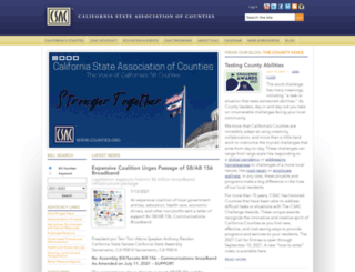 csac.counties.org screenshot