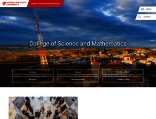 csam.montclair.edu screenshot