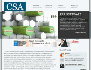 csasoftacademy.com screenshot