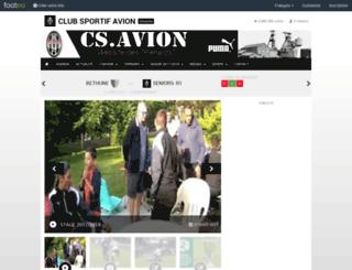 csavion.footeo.com screenshot