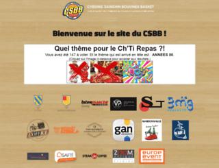 csb-basket.org screenshot