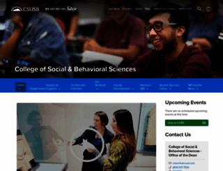 csbs.csusb.edu screenshot