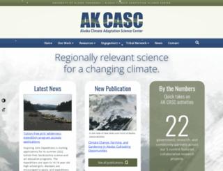 csc.alaska.edu screenshot
