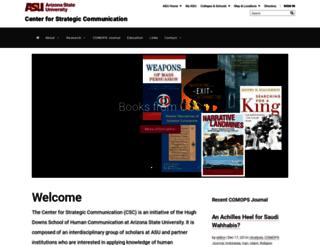 csc.asu.edu screenshot