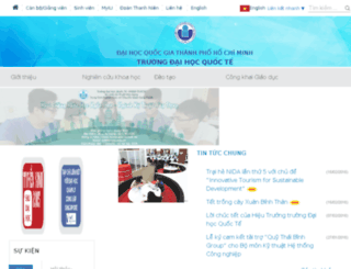 csc.hcmiu.edu.vn screenshot