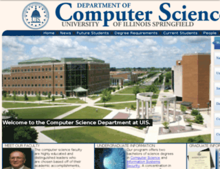 csc.uis.edu screenshot