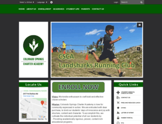 cscharter.org screenshot