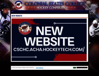 cschc.pointstreaksites.com screenshot