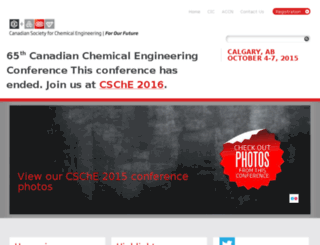 csche2015.ca screenshot