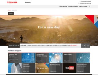 csd.toshiba.com.sg screenshot