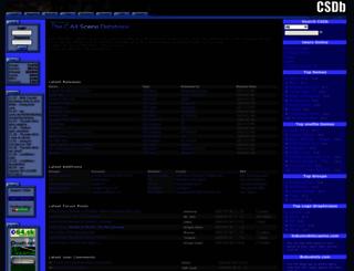 csdb.dk screenshot