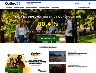 csdm.qc.ca screenshot