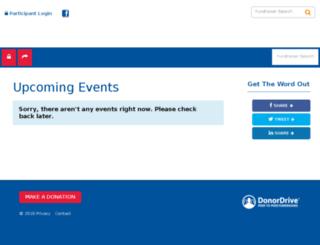 csdsa.donordrive.com screenshot