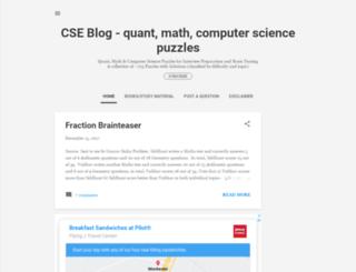 cseblog.com screenshot
