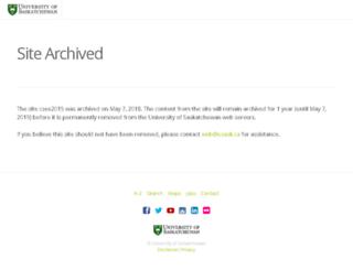 csee2015.usask.ca screenshot