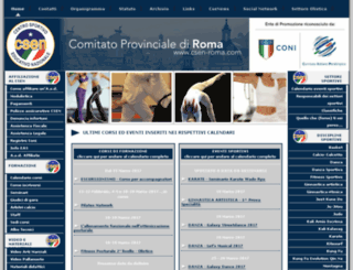 csen-roma.com screenshot