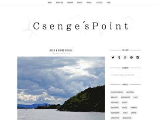 csengespoint.blogspot.hu screenshot
