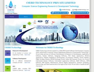 cserdtechnology.co.in screenshot