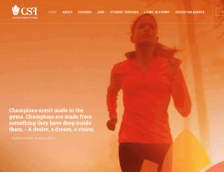 csf.edu.au screenshot