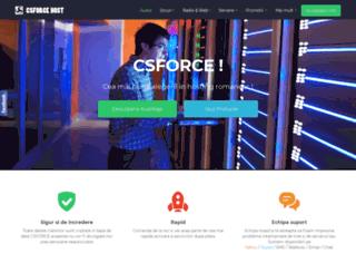 csforce.ro screenshot