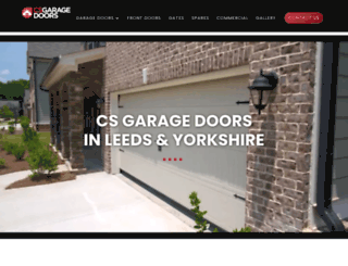 csgaragedoors.co.uk screenshot