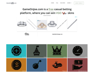 csgojoe.com screenshot