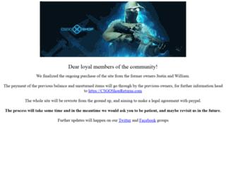 csgoshop.com screenshot