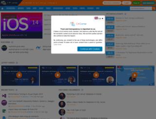 csharpcorner.com screenshot