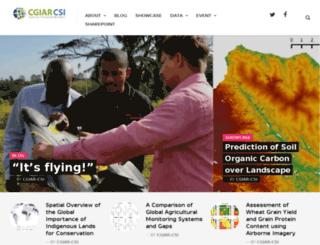 csi.cgiar.org screenshot