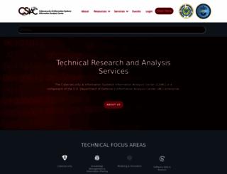 csiac.org screenshot