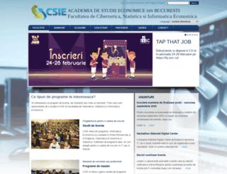 csie.ase.ro screenshot