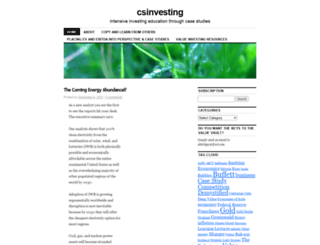 csinvesting.org screenshot