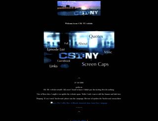 csiny.pastmyshoulder.com screenshot