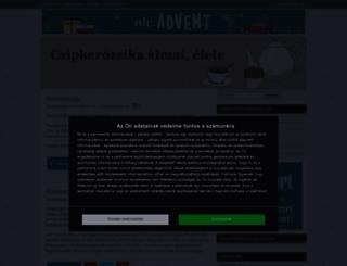 csipkerozsika.cafeblog.hu screenshot