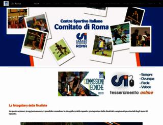 csiroma.com screenshot