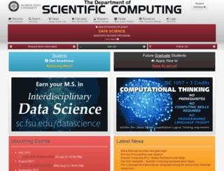 csit.fsu.edu screenshot