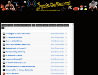 cskysports.blogspot.com screenshot