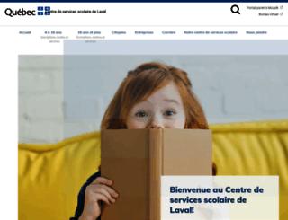 cslaval.qc.ca screenshot