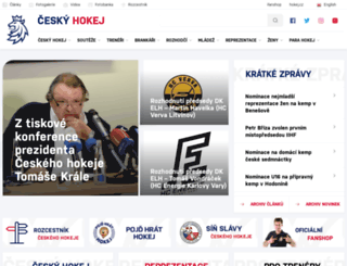 cslh.cz screenshot