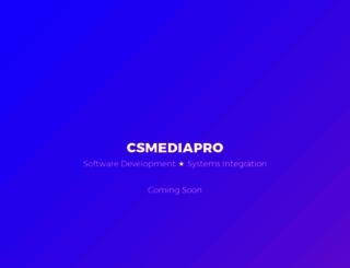 csmediapro.com screenshot