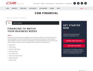 csmfinance.com screenshot